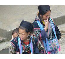 Hmong Nosepick Photographic Print