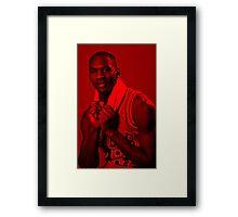 Michael Jordan - Celebrity Framed Print