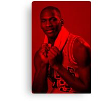 Michael Jordan - Celebrity Canvas Print