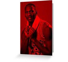 Michael Jordan - Celebrity Greeting Card