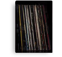Vinyl - Collection Canvas Print