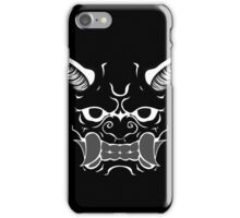 Oni (no outline knockout) iPhone Case/Skin