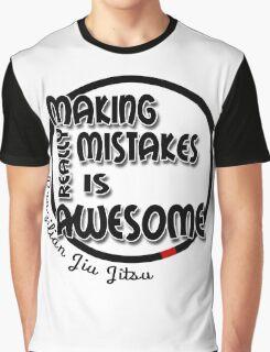 BJJ Brazilian Jiu Jitsu - making mistakes Graphic T-Shirt