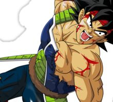Bardock charges the Final Spirit Cannon - Dragon Ball Z Sticker