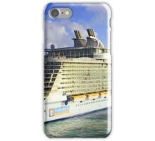 The current largest cruise ship on the sea! iPhone Case/Skin
