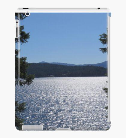 Tranquil Lake Coeur d'Alene iPad Case/Skin