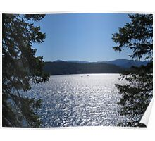 Tranquil Lake Coeur d'Alene Poster