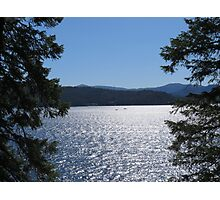 Tranquil Lake Coeur d'Alene Photographic Print