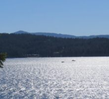 Tranquil Lake Coeur d'Alene Sticker