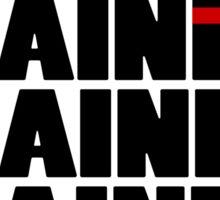 BJJ Brazilian Jiu Jitsu - just keep training Sticker