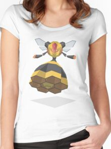 Cutout Vespiquen Women's Fitted Scoop T-Shirt