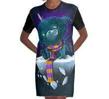 Snot Graphic T-Shirt Dress