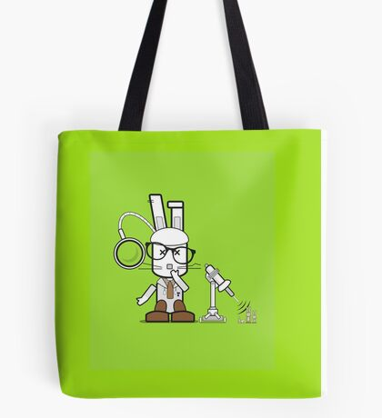 """Bunny, I shrunk the kids!"" Tote Bag"