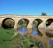 Richmond Bridge, Tasmania by Margaret  Hyde