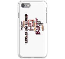 BJJ Brazilian Jiu Jitsu - King of the Guard iPhone Case/Skin