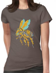 Bumblebot Womens Fitted T-Shirt