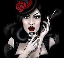 Black Cabaret by Isobel Von Finklestein