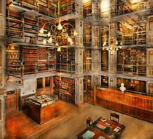 Library - A literary classic 1905 by Mike  Savad