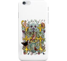 "The Illustrated Alphabet Capital  H  ""Getting personal"" iPhone Case/Skin"