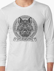 Legend of Zelda Twilight Princess Wolf Link Line Artly  Long Sleeve T-Shirt