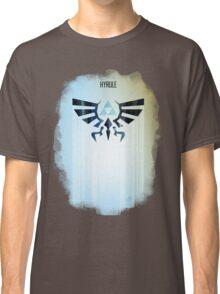Legend of Zelda Hyrule Rising Minimal Vector Poster  Classic T-Shirt