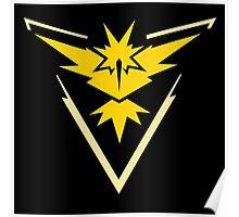 Pokemon Go | Team Instinct | Black Background | HUGE | New! | High Quality! Poster