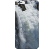 Roaring Waterfall - Snoqualmie Falls iPhone Case/Skin