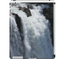 Roaring Waterfall - Snoqualmie Falls iPad Case/Skin