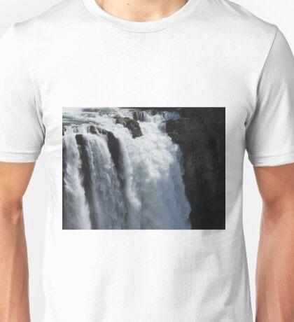 Roaring Waterfall - Snoqualmie Falls Unisex T-Shirt