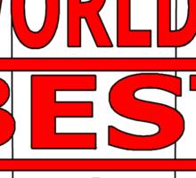world's best inrovert Sticker