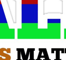 All Lives Matter T-shirt 2 Sticker