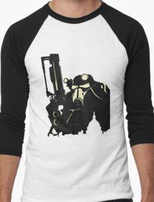 Power Suit Men's Baseball ¾ T-Shirt