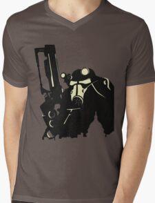 Power Suit Mens V-Neck T-Shirt