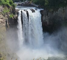 The Rush and the Roar of Snoqualmie Falls by jkmarshall