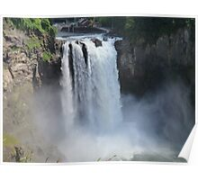 The Rush and the Roar of Snoqualmie Falls Poster
