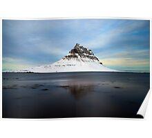 Mountain near Kirkjufell, Iceland Poster