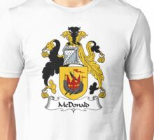 McDonald Coat of Arms / McDonald Family Crest Unisex T-Shirt