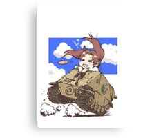 anime tank Canvas Print