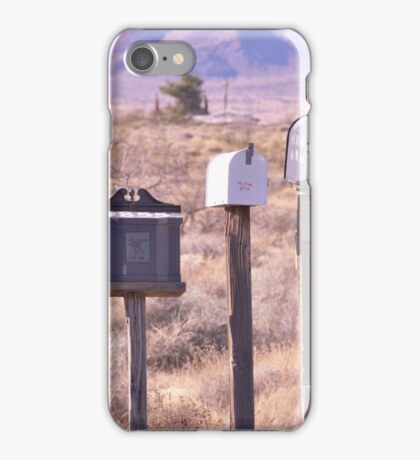 Letterboxes to Go iPhone Case/Skin