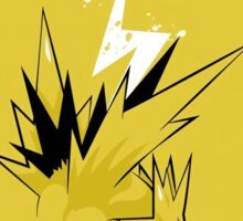 Zapdos Instinct Pokemon Go Sticker