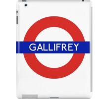 Fandom Tube- GALLIFREY iPad Case/Skin