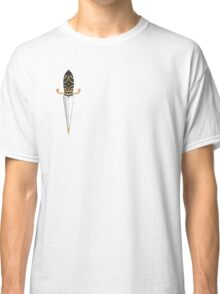 Old School Dagger Tattoo Classic T-Shirt