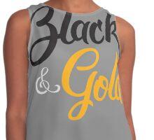 BLACK & GOLD (script) Contrast Tank