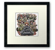 anime tank Framed Print