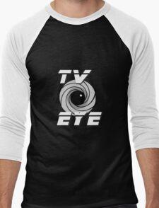 TV Eye Men's Baseball ¾ T-Shirt