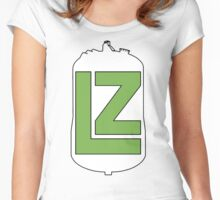 The LZ Collaboration Logo Women's Fitted Scoop T-Shirt