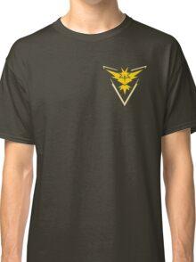 Pokemon Go   Team Instinct   Black Background   Small   New!   High Quality! Classic T-Shirt