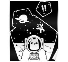 explore in space Poster