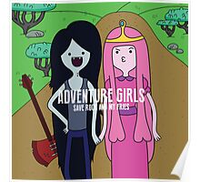 Adventure Girls Poster