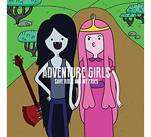Adventure Girls Photographic Print